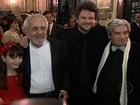 Dilma e Selton Mello assistem a 'O Palhaço' no cinema do Alvorada