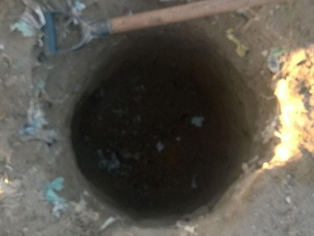Mais um túnel encontrado no Complexo Prisional do Curado  (Foto: Reprodução/ Seres)
