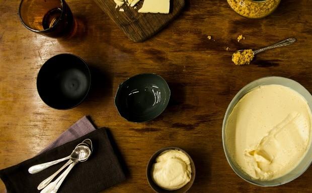 Mousse de chocolate branco (Foto: Editora Panelinha/Gilberto Jr.)