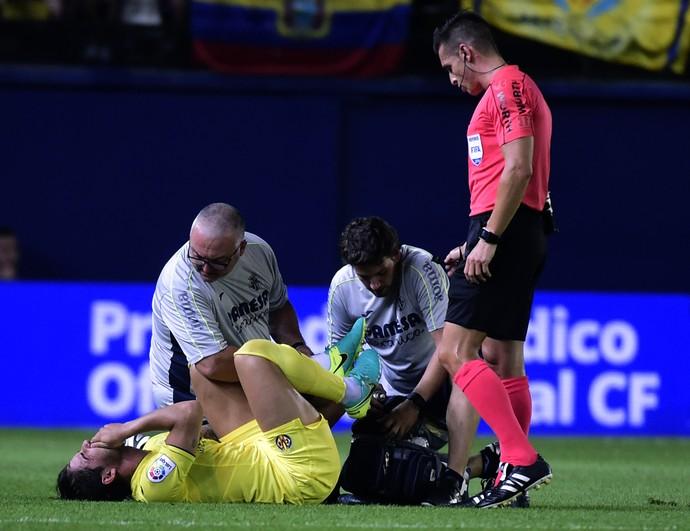Alexandre Pato Villarreal x Sevilla (Foto: AFP)