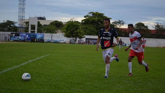 Estreia de Guajará e Rondoniense no Estadual 2017 (Foto: Lívia Costa)