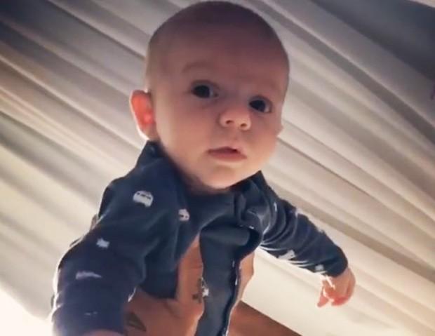 Gael, filho de Maíra Charken e Renato Antunes (Foto: Reprodução/Instagram)
