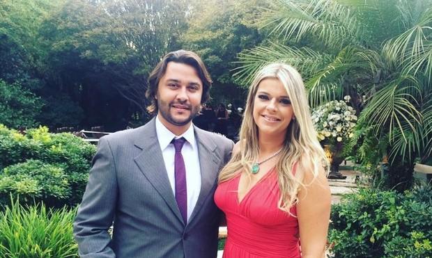 Marcelo Lima e Mayra Tincani (Foto: Twitter / Reprodução)