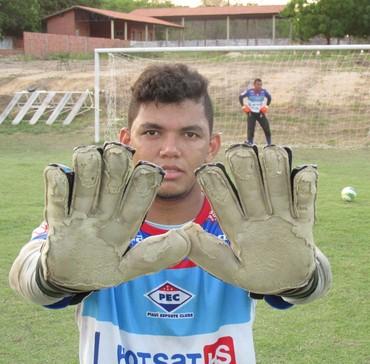 Joel goleiro Piauí (Foto: Renan Morais)