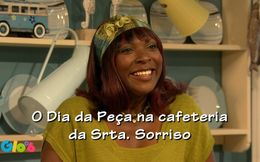 O Dia na Peça na Cafetaria da Srta Sorriso