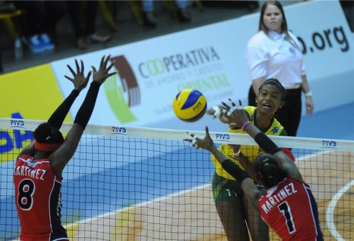 Lorenne Geraldo vôlei Brasil (Foto: Divulgação/CBV)