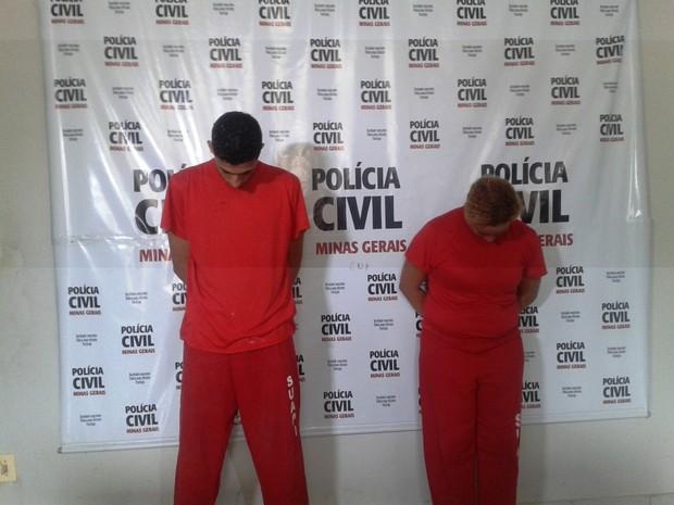 Darlane a irmã foram presos em casa (Foto: Michelly Oda / G1)