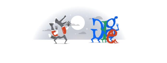 Doodle comemora o Halloween de 2014 (Foto: Reprodução/Google)