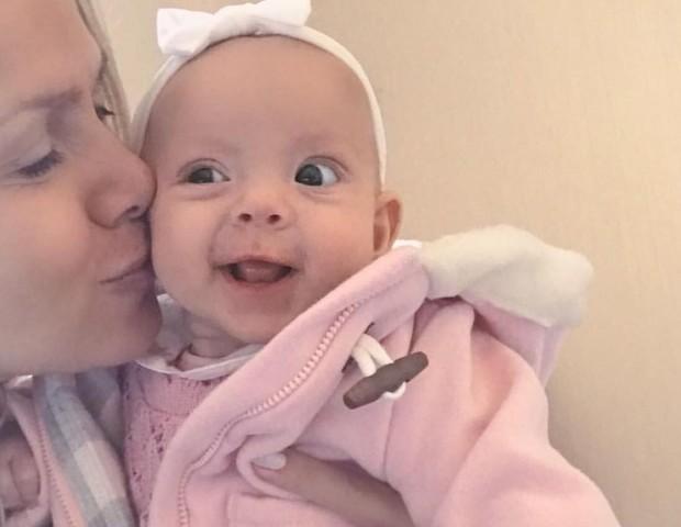 Eliana com a filha (Foto: reprodução instagram)