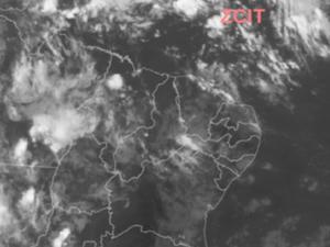 Ceará tem chuvas em 55 cidades neste sábado; Cariri recebe maiores chuvas (Foto: Reprodução/Funceme)