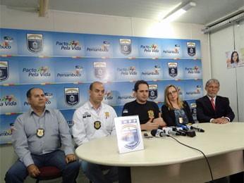 Polícia deu detalhes da morte do empresário (Foto: Katherine Coutinho/G1)