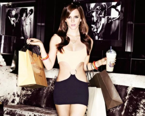 Emma Watson em 'Bling Ring: A Gangue de Hollywood' (2013) (Foto: Reprodução)