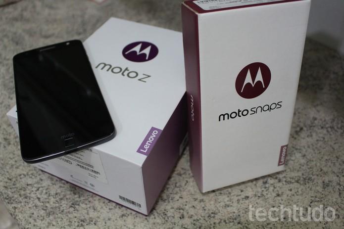 Moto Z  (Foto: Aline Batista/TechTudo)