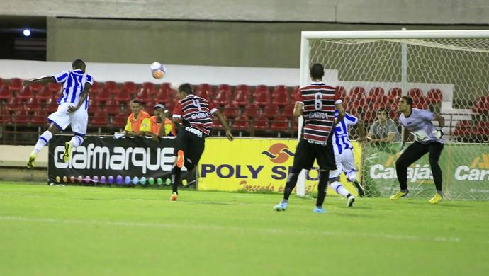 CSA x Santa Rita (Foto: Ailton Cruz/ Gazeta de Alagoas)