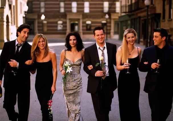 """""""Friends"""" estreou em 1994 e o último episódio da série foi exibido em 6 de maio de 2004 (Foto: Instagram/Reprodução)"""