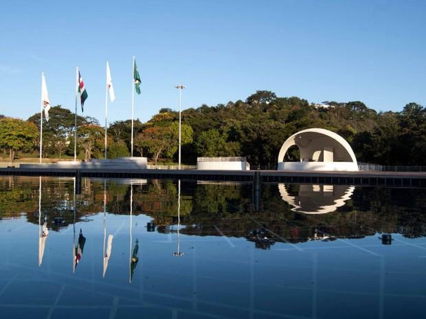 Campus da UFJF (Foto: Caique Cahon/UFJF)