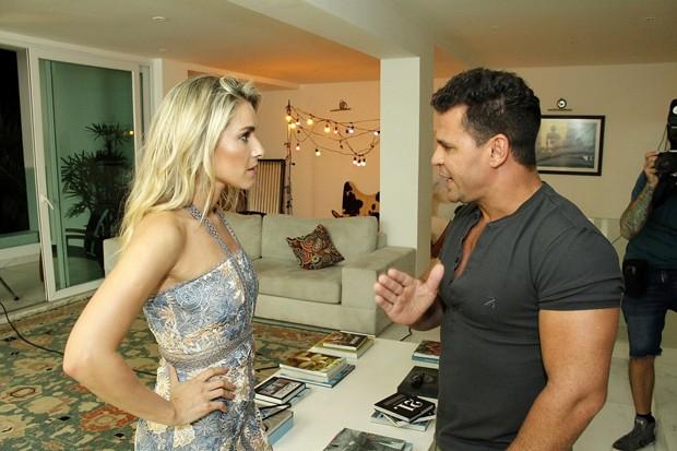Monique e Eduardo Costa (Foto: Marcos Ferreira / Brazil News)