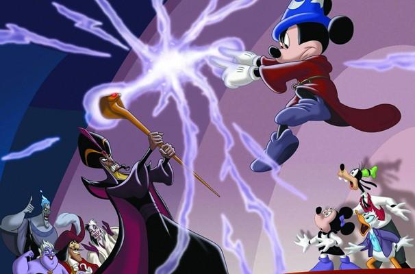 Mickey e sua turma em um luta épica contra os maiores vilões de todos os tempos (Foto: Divulgação/Reprodução)