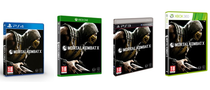 Scorpion estampará as caixas de Mortal Kombat X para PlayStation 4, Xbox One, PlayStation 3, Xbox 360 e PC (Foto: Divulgação)