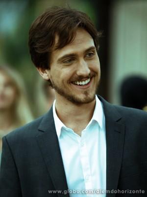 Igor se considera um estreante na televisão (Foto: Inácio Moraes/TV Globo)