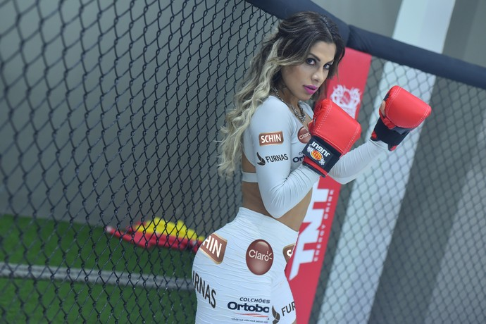 Vanessa Mesquita ring girl Jungle Fight 78 (Foto: Divulgação - Jungle Fight)