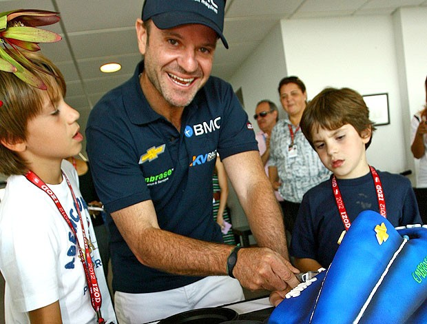 Aniversário de Rubens Barrichello (Foto: Carsten Horst / MPTeam)