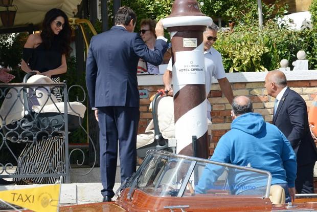 Amal Clooney e George Clooney (Foto: Ciao Pix / BACKGRID)
