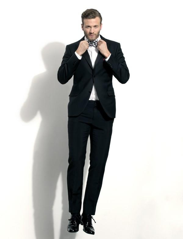 Sapatos de verniz no black tie (Foto: Karl Simone)