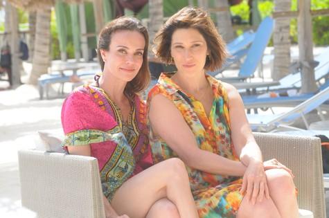 Flávia Monteiro e Beth Goulart (Foto: Divulgação)