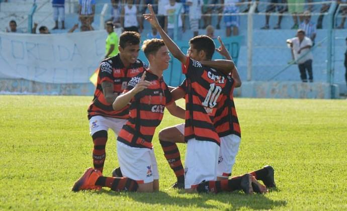 Crac x Atlético-GO no Genervino da Fonseca (Foto: Comunicação/Atlético-GO)