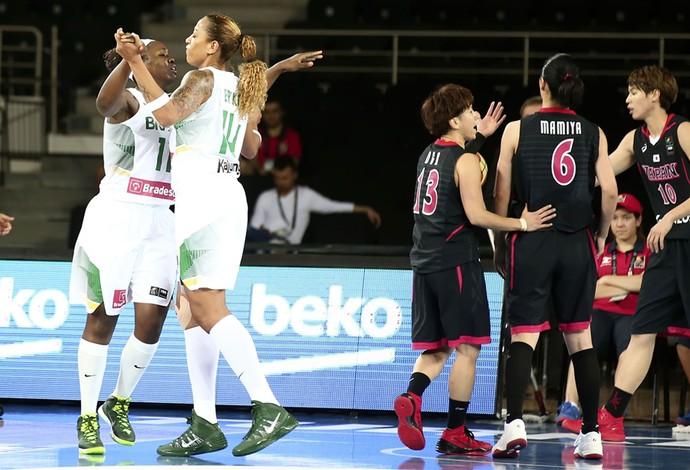 erika brasil x japão mundial basquete (Foto: Divulgação/FIBA)