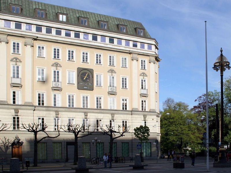 Banco Sveriges Kreditbank, onde ocorreu o roubo (Foto: Wikimedia Commons)