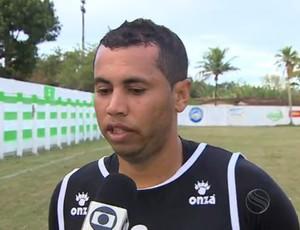 David Bolinho (Foto: Reprodução/TV Sergipe)