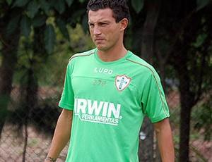 Gustavo, zagueiro da Portuguesa (Foto: divulgação / Portuguesa)