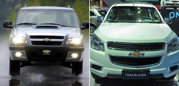 Chevrolet Blazer e Trailblazer (Foto: Divulgação/G1)