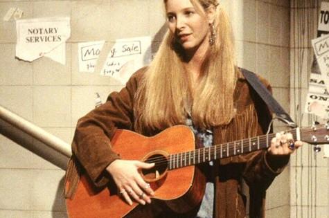 Phoebe Bufay (Lisa Kudrow) em 'Friends' (Foto: Reprodução da internet)