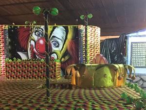 Real Grandeza reedita enredo sobre circo, apresentado em 1974 (Foto: Ana Cruzeiro/G1)