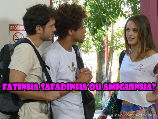 E aí? Prefere a Fatinha amiguinha ou a Fatinha safadinha? (Foto: Malhação / Tv Globo)
