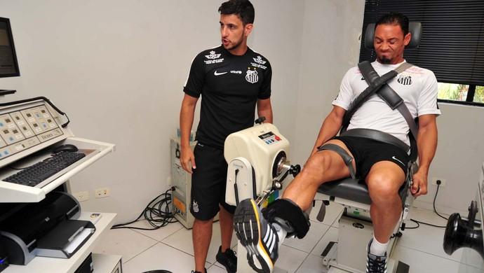 Ricardo Oliveira Santos (Foto: Ivan Storti / Santos FC)