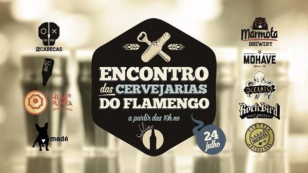 Encontro de Cervejarias do Flamengo, neste domingo
