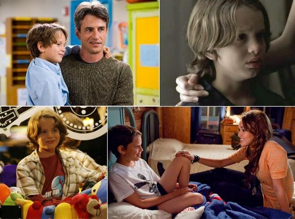 Bobby em 'Procura-se um Amor que Goste de Cachorros' (2005), 'A Casa de Vidro 2' (2006), 'Ensinando a Viver' (2007) e 'A Última Música' (2010)   (Foto: Divulgação/Reprodução)