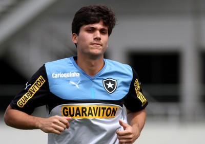 Igor Rabello, treino Botafogo (Foto: Vitor Silva / SS Press)