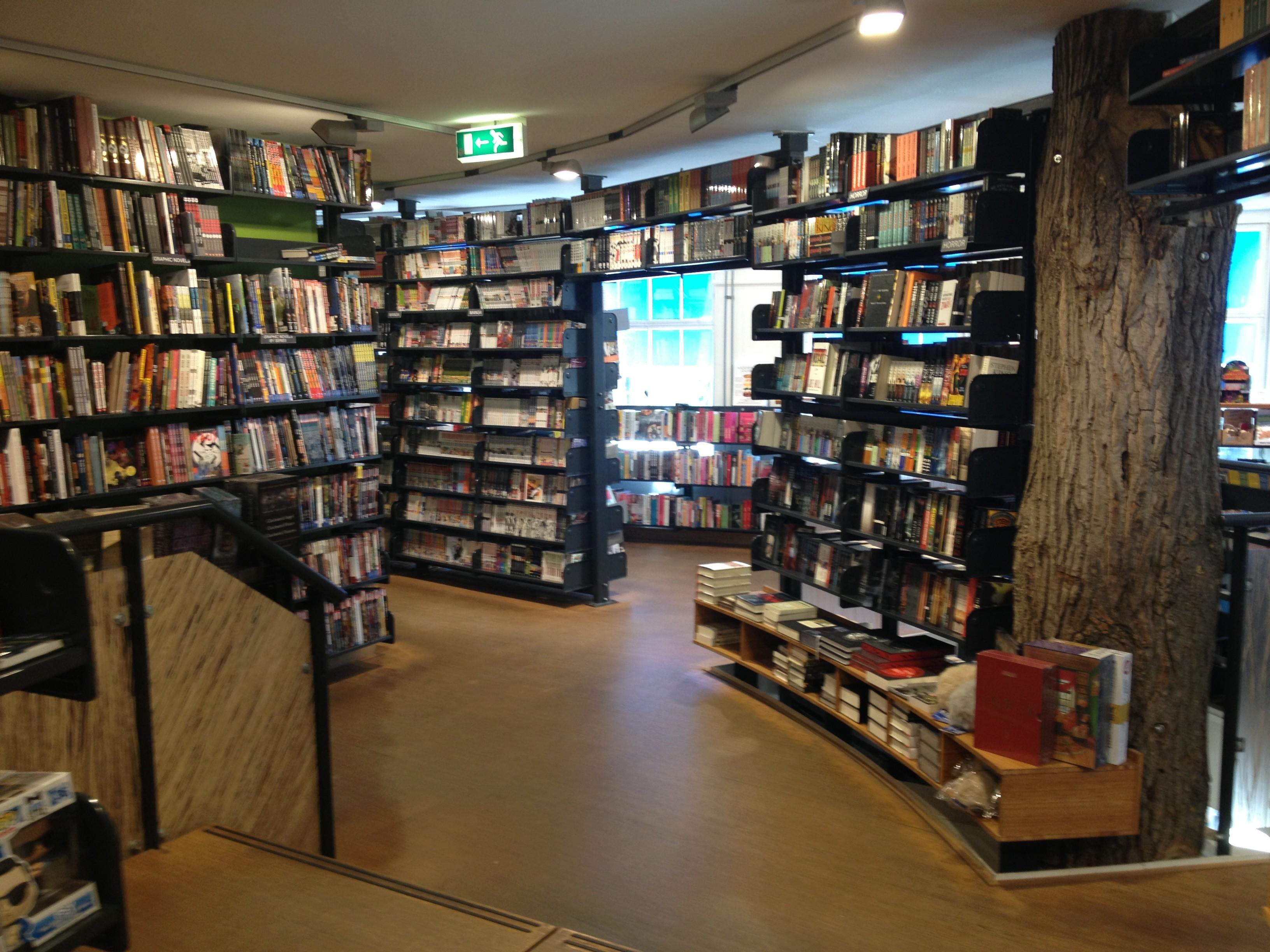 The American Book Center - Amsterdã, Holanda (Foto: Reprodução)