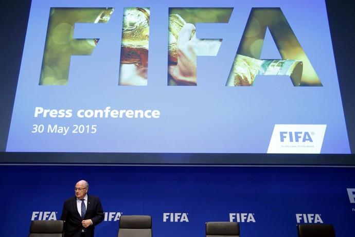 Joseph Blatter Congresso Fifa (Foto: Reuters)