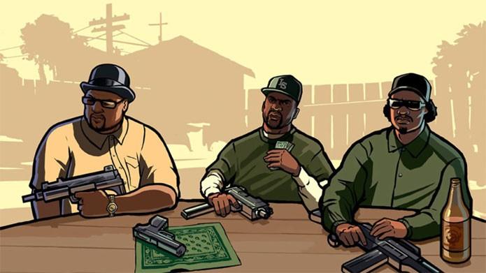 GTA San Andreas em oferta na PSN (Foto: Divulgação)