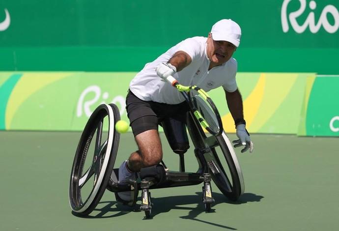 Stephane Houdet tênis em cadeira de rodas Rio 2016 (Foto: Divulgação/ITF Wheelchair Tennis)