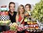 Luisa Mell faz festa para comemorar 2 anos do filho e serve comidas veganas