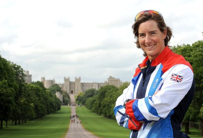 Katherine Grainger skiff duplo Campeã olímpica em 2012 (Foto: Christopher Lee / Getty Images)