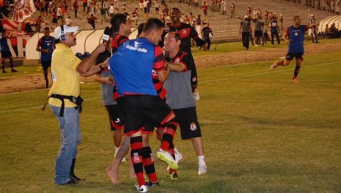 Campinense x Botafogo-PB, Amigão (Foto: Silas Batista / GloboEsporte.com)