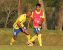 Tencati testa novo ataque do Londrina para o jogo contra o Botafogo-SP